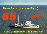 Pirate Radio London Big L 1965 Vol 1 (MP3 CD)