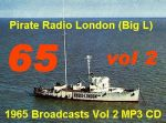 Pirate Radio London Big l 1965 Vol 2 (MP3 CD)