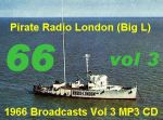 Offshore Pirate Radio London Big L 1966 MP3 CD