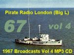 Offshore Pirate Radio London Big L 1967 Vol 4 MP3 CD