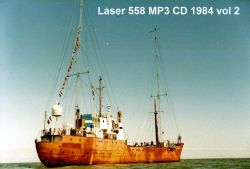 Offshore Pirate Radio Laser 558 1984 vol 2 MP3 CD
