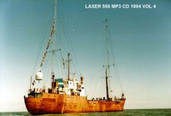 Offshore Pirate Radio Laser 558 1984 vol 4 MP3 CD